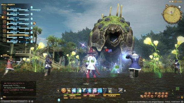Countdown to Final Fantasy XV   Final Fantasy XIV Countdown Screenshot 1