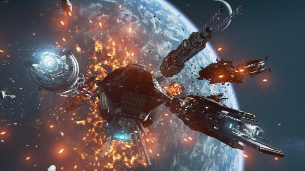 Fractured Space | Key art