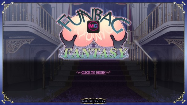 Funbag Fantasy Title Screen