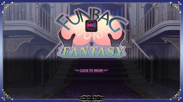 Funbag Fantasy Title Screen