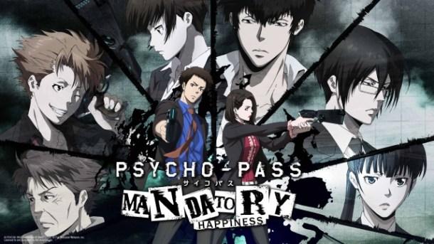 Psycho-Pass: Mandatory Happiness   Key Art