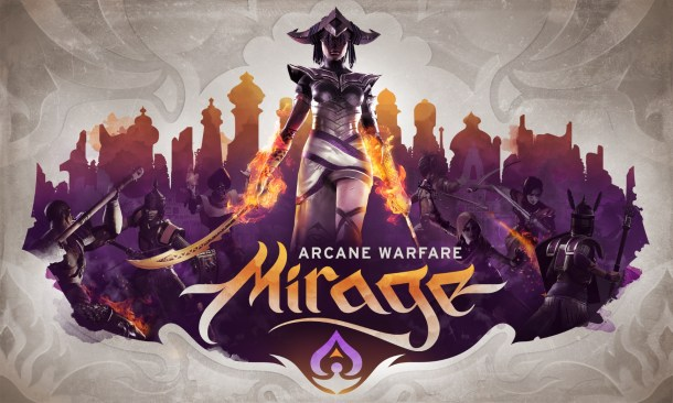 Mirage: Arcane Warfare | Logo key art