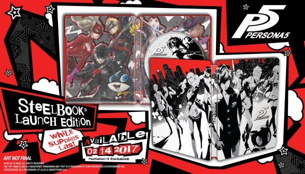 Persona 5 | SteelBook Launch Edition