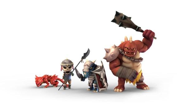 Super Dungeon Tactics | Foes