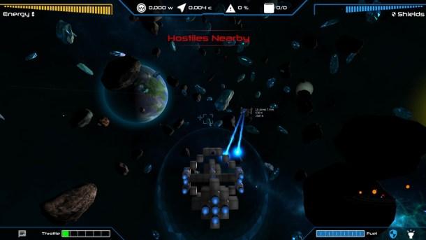 Lightspeed Frontier | In combat
