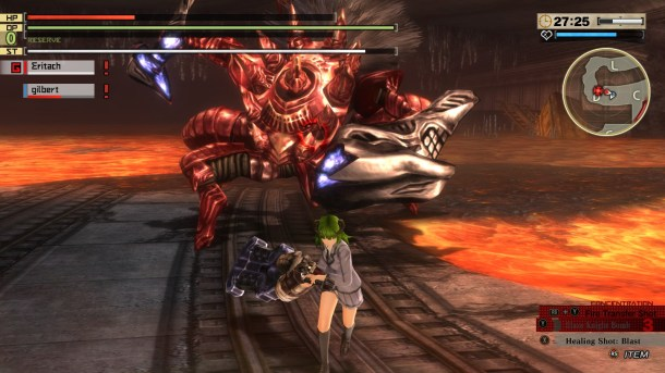 God Eater 2 Rage Burst | Borg Camlann