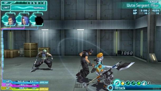 Countdown to Final Fantasy XV | Crisis Core Final Fantasy VII Screenshot 2