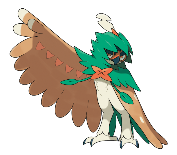 Decidueye is the only Pokémon who can learn the new move Spirit Shackle