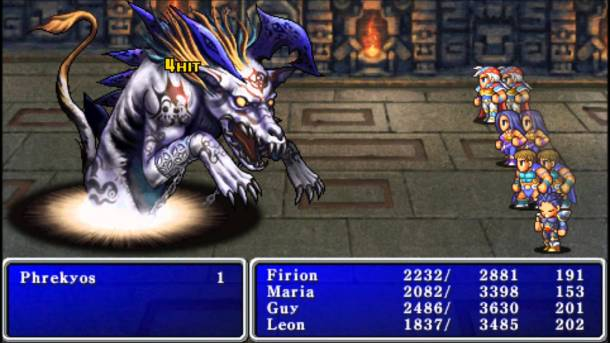 Countdown to Final Fantasy XV | Final Fantasy II Screenshot 3