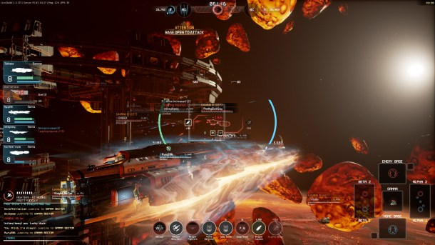Fractured Space | Gamma Sector