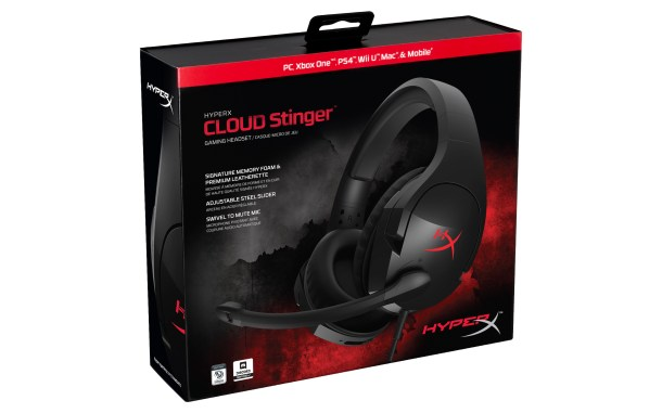 HyperX Cloud Stinger | Box design