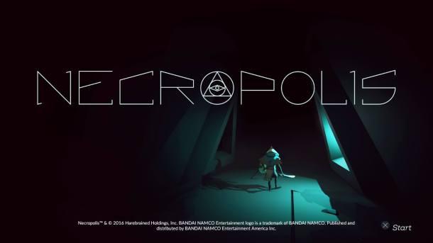 Necropolis Title Screen