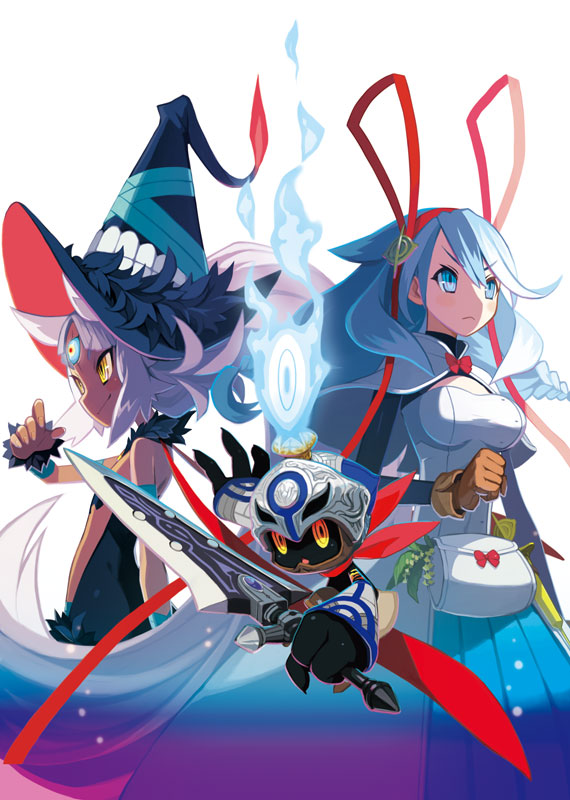 The Witch and the Hundred Knight 2 | Key Art