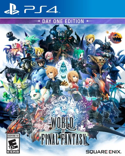 World of Final Fantasy | Box Art