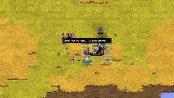Crashlands | A Sawesome Screenshot