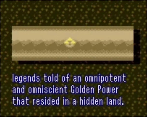 A Link to the Past | Triforce Myth