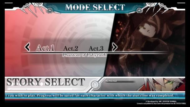 BlazBlue Central Fiction | Arcade Mode