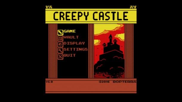 Creepy Castle Title Image