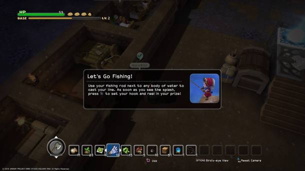 Dragon Quest Builders | Fishing