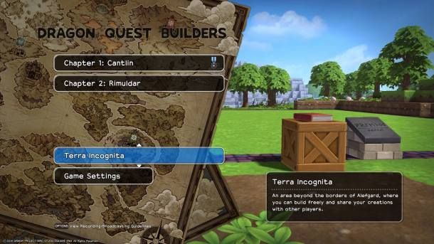 Dragon Quest Builders | Terra Incognita