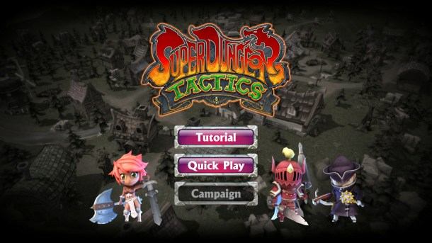 Super Dungeon Tactics | Main Menu