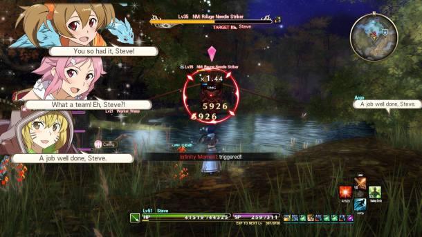 Sword Art Online: Hollow Realization | Combo