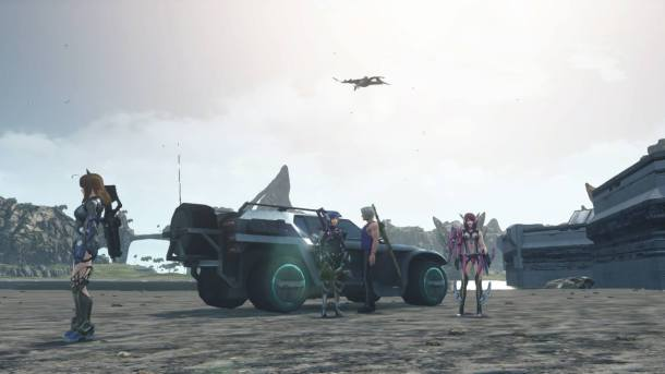 Xenoblade Chronicles X | My friends and I, pulling off our best Christian rock band album cover.