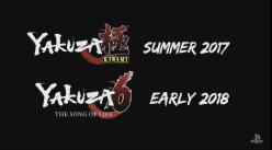 Yakuza 6 Yakuza Kiwami   Announcement