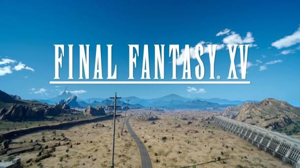 Final Fantasy XV Title Image