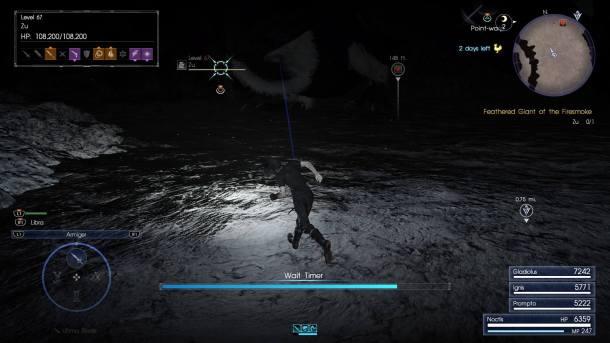 Final Fantasy XV   Wait Mode