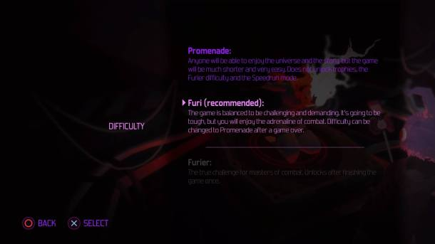 Furi | Difficulty