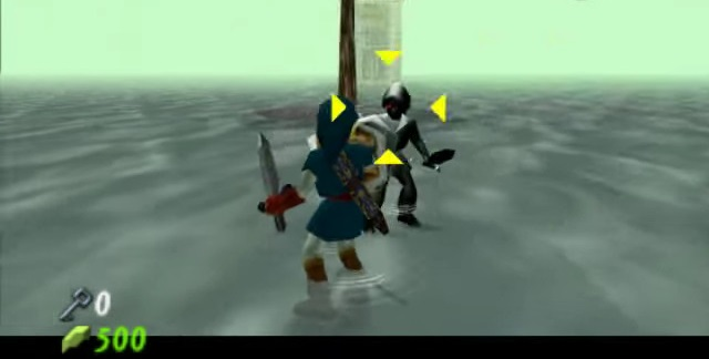 Ocarina of Time | Dark Link Battle