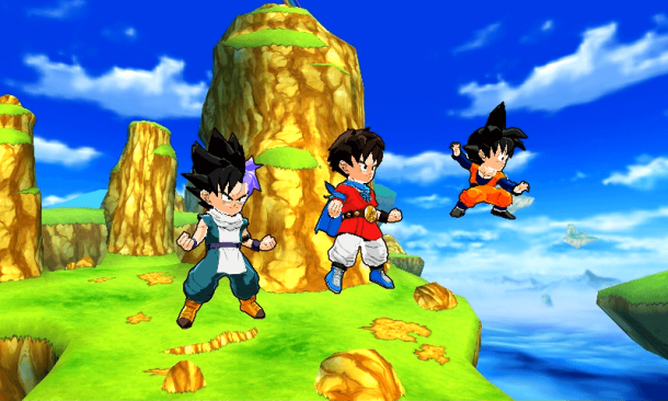 Dragon Ball Fusions | Gohenks, Goten, and Main character