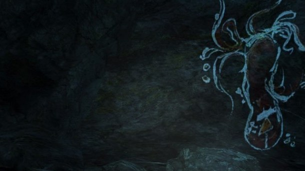 Dear Esther | Cave Drawing