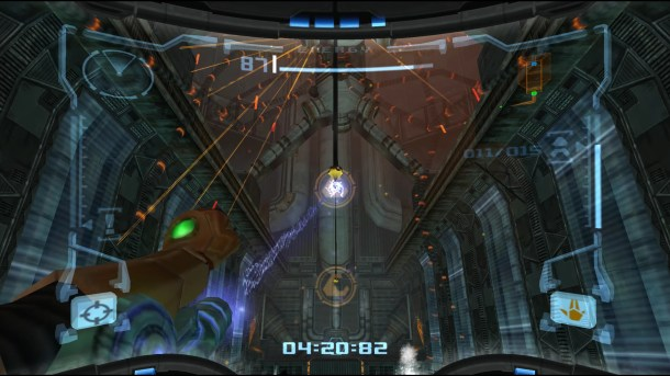 Metroid Prime | Grapple Beam