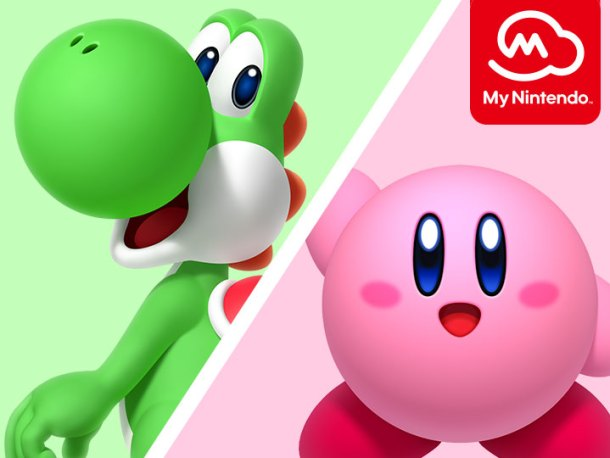Nintendo Download | Kirby and Yoshi