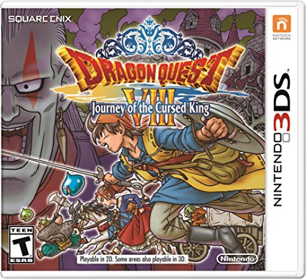 Dragon Quest VIII 3DS | Cover Image