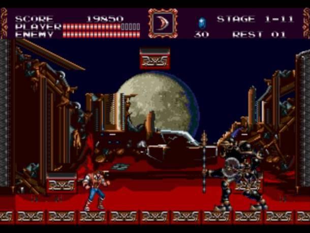 Castlevania bloodlines   fight