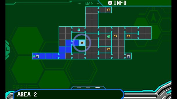 Blaster Master Zero | Map