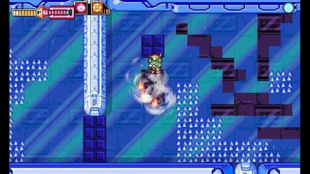 Blaster Master Zero | Secondary Weapon Uses