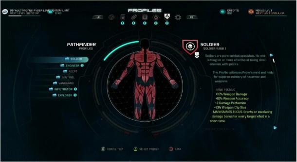 Mass Effect: Andromeda | Profiles