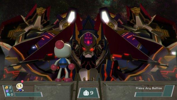Super Bomberman R | Mysterious Mecha