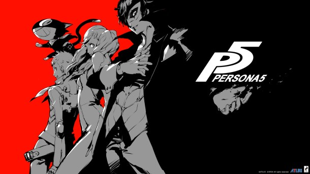 Persona 5 Title Image