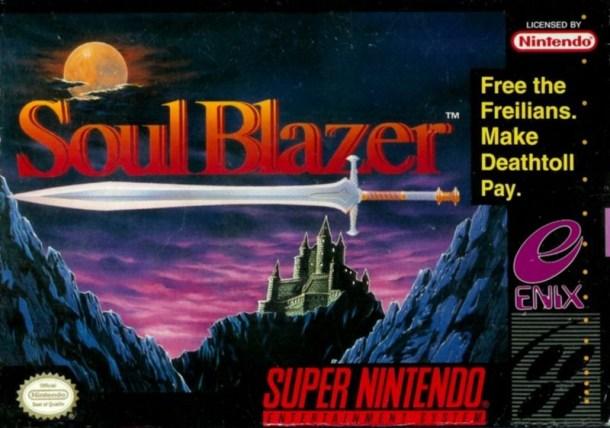 Soul Blazer | boxart