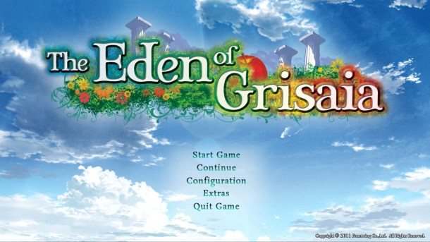 The Eden of Grisaia | Title screen