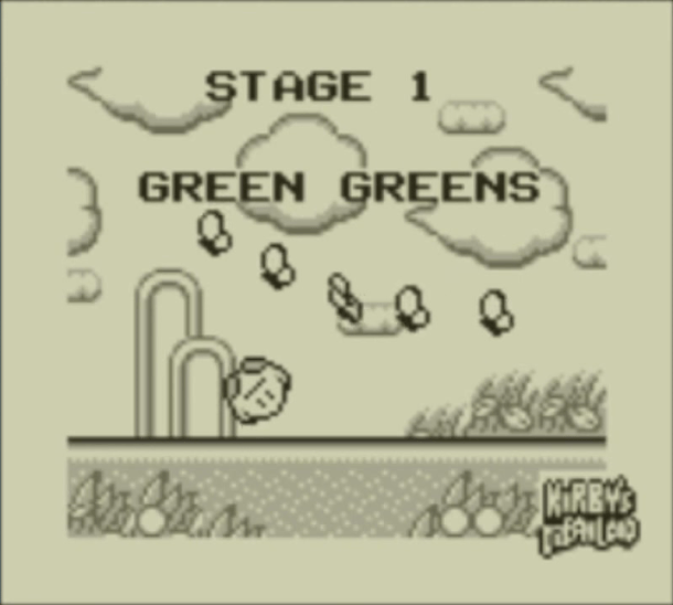 Kirby's Dream Land | Green Greens