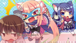 NEKO-NIN exHeart   Chibi Combat