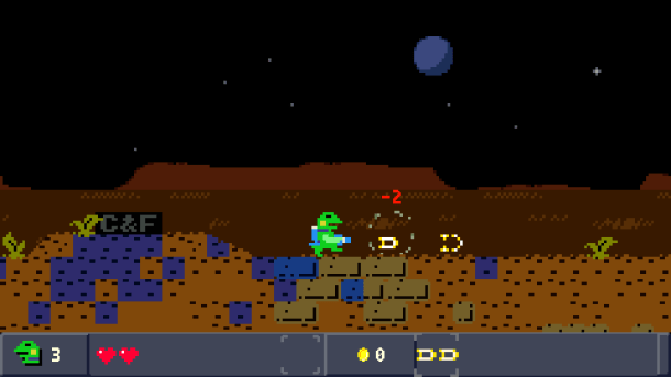 Kero Blaster | First level