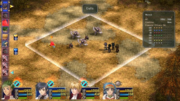 Trails in the Sky The 3rd | Battle scene