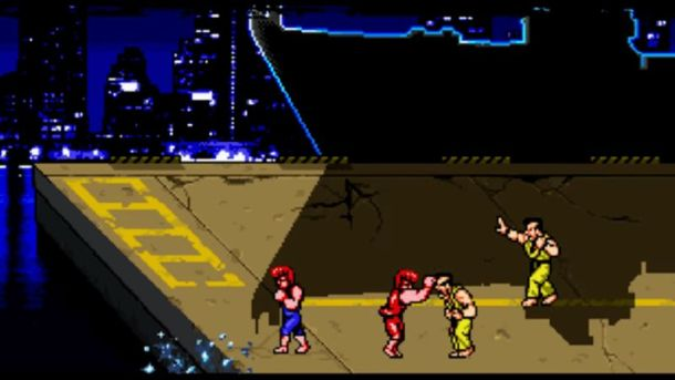 Double Dragon 4 | Fighting